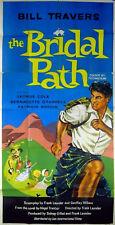 BRIDAL PATH 1959 Bill Travers, George Cole, Bernadette O'Farrell UK 3-SHEET
