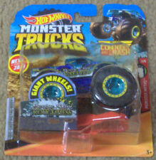 New 2019 Hot Wheels Monster Trucks Nessie Sary Roughness Connect & Crash