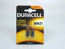 2 Duracell MN21 Alkaline Batterie  12V 33mAh (1x2er Blister)  A23/V23GA/LR50