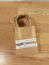 """15pc Darice Paper Crafting Gift Bag with Rope Handles Small Bags 3.8""""×5""""×2"""" NEW"""