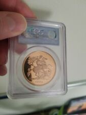 2004 St George and the Dragon £5 Five Pound Sovereign Gold Proof Coin PCGS PR69