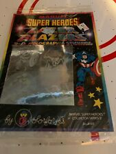 Marvel Superheroes 1983 Laser Blazers 3-D Holographic Stickers New In Package