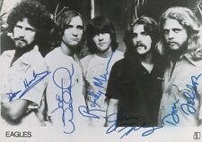 The Eagles - 8 1/2 X 12 Glossy Signed Photo Reprint