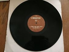 "Ray Keith - Chronic 11 Who The Hell Am I? / Round 2 Drum and Bass 12"" Vinyl"