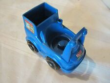 Fisher Price Little People Mail Postal carrier post office Truck Blue Vehicle