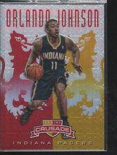 ORLANDO JOHNSON  2012-13 PANINI CRUSADE RED YELLOW ROOKIE CARD #50 /99