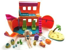 Lot Polly Pocket Airplane - Accessories- Doll Travel items