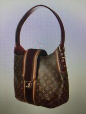 Louis Vuitton Limited Edition Burgandy Noir Monogram Mirage Musette Bag