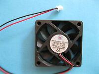 2 pcs Brushless DC Cooling Fan 5V 6015S 9 Blade 60x60x15mm 2pin Sleeve-bearing
