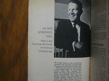 1964 TV  Guide(RUDY VALLEE/JULIA  CHILD/PHYLLIS NEWMAN/THE DEFENDERS/JUDY CARNE)