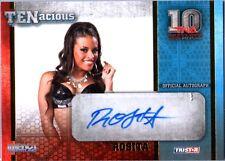 TNA Rosita 2012 TENacious GOLD Authentic Autograph Card SN 26 of 100