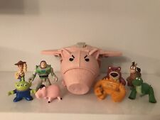 Toy Story Evil Dr Pork Chop Hamm Spaceship Figure Lotso Woody Imaginext Aliens