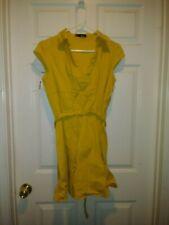 dull yellow dress size XL juniors