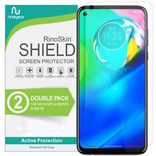 [2-PACK] Moto G Power Screen Protector RinoGear Case Friendly Accessories