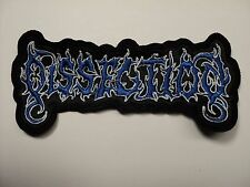 DISSECTION  SHAPED LOGO        EMBROIDERED PATCH