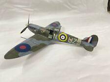 Eduard 1:48 Spitfire Mk2 built for display