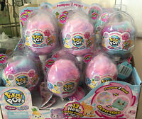 12x LOT w/Box NEW Pikmi Pops Surprise Flips Cotton Candy Pompom Scented Plush