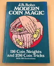 Modern Coin Magic, J.B. Bobo, Softcover, Dover book, englischsprachig