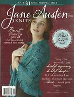 Jane Austen Knits Magazine Knitting Instruction Pattern 31 Project Fall 2012 NEW