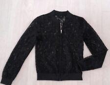 belle veste dentelle proche neuf chic noir H&M t 12ans collection Printemps Été