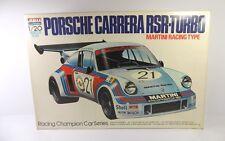 """ARII N. 1000-57-a PORSCHE CARRERA RSR TURBO """"Martini"""" MOTORIZZATO KIT 1/20 RARA"""