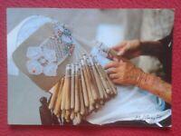 POSTAL POST CARD ENCAJE DE BOLILLOS ? BOLILLERAS ? ESPAÑA ? TRADICIONES...VER...