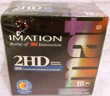 Imation Neon IBM Formatted 2hd Diskettes X 10
