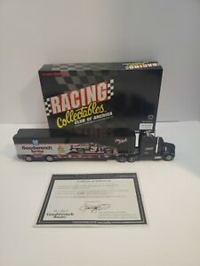 1995 RCCA 1/64th #3 Dale Earnhardt Goodwrench  NASCAR Transporter 1 Of 5,000