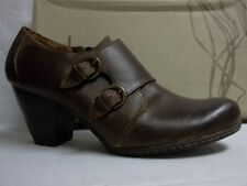 Born Size 9.5 M Cathleen Rust Leather Mules Heels New Womens Shoes