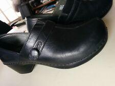 DANSKO WOMEN'S CLOGS SLIP ON SHOES BLACK SZ 38