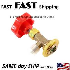 """1/4"""" SAE Auto AC Can Tap Valve Bottle Opener for R134a Refrigerant NEWM14"""