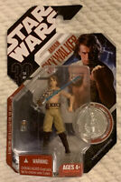 Hasbro STAR WARS 2007 Expanded Universe Anakin Skywalker W/ Collector Coin