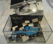 Minichamps 1:43rd Benetton Playlife B200 Jenson Button 1st test Drive Jerez 2000