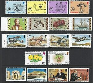 ASCENSION 1982/84 Commemorative Sets (13) MNH