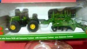 Siku 1856 John Deere 9630 Tractor  with Cultivator