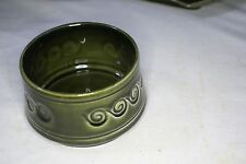 Green Sylvac Butter Dish Pattern Number 4033