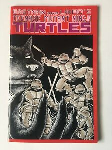 Teenage Mutant Ninja Turtles #1 Fifth 5th Printing VF/NM Rare Printer Error p4&5