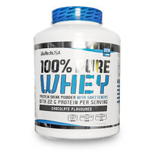 Biotech USA 100% Pure whey Protein 1kg bag or 2.2kg tub 22g Protein per serving