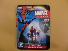 Marvel Universe 4gb USB Spider-Man Figurine RARE NIB