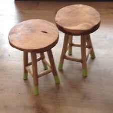 Solid Wood Rustic Stools & Breakfast Bars