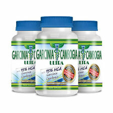Garcinia Cambogia Ultra - Weight Loss Supplement with 95% HCA (3 bottles)