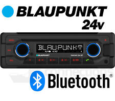 24v radio CD player Blaupunkt Dakar 224 BT w Bluetooth USB MP3 AUX bus lorry etc