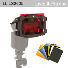 NEW Lastolite Strobo Gel Starter Kit LS2605, Direct to Flash: warm/cool/ND/frost