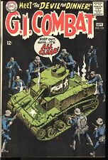 G.I. COMBAT HIGH GRADE SILVER AGE ISSUES 133, 132, 134 HAUNTED TANK DC COMICS