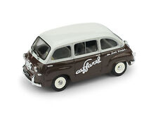 Fiat 600 Multipla Cioccolato Caffarel 1956 1:43 Model BRUMM
