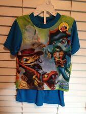 NEW Skylanders Swap Force Size 4  Pajamas 2 piece short set pjs Christmas gift