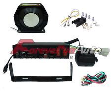 200W 8 Sound Loud Car Warning Alarm Siren Horn PA Speaker MIC System Police Fire