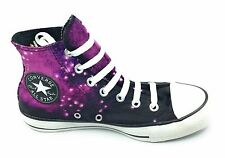 Converse Womens Unicorn Chuck Taylor Hi Top Sneaker Shoe Purple Black Size 7 M