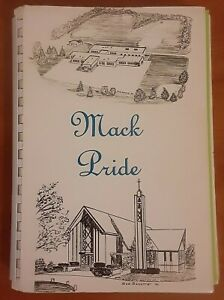 Mack Pride 1982 self published cook book Our Lady of Visitation church god jesus