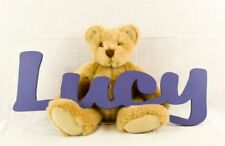 Kids Personalized Wooden Name Sign Name Wall Decor Wooden Letters